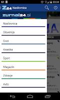 Screenshot of Zurnal24