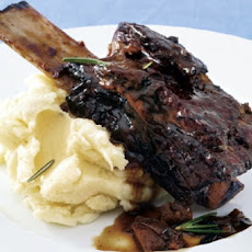 Braised Hoisin Beer Short Ribs