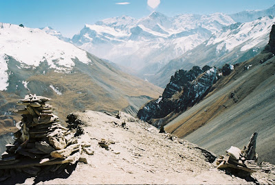 The mountain above High Camp