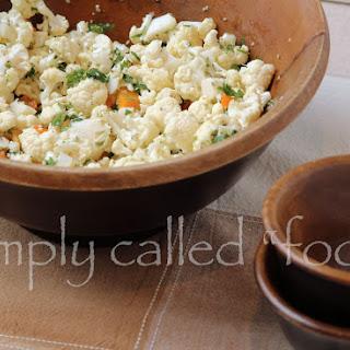 Cauliflower Salad Apple Recipes