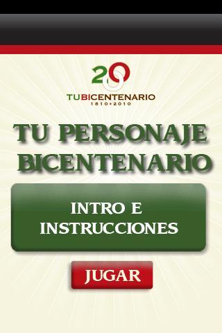 Personaje Bicentenario