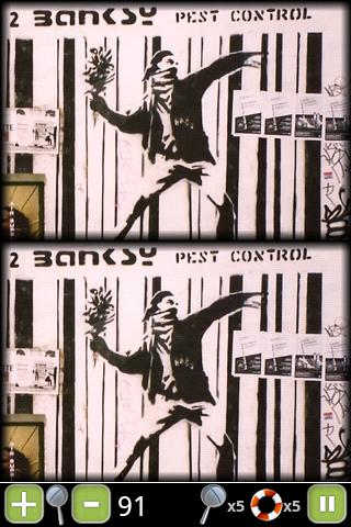 Banksy Paranoid Differences