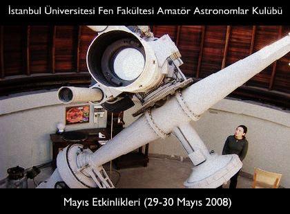 Amatör Astronomlar Kulübü Mayıs Etkinlikleri