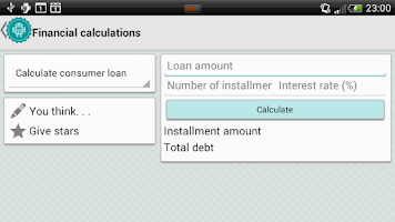 Screenshot of Calculas