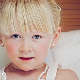 Emily by Alan Evans - Babies & Children Child Portraits ( child, wedding photography, girl, melbourne wedding photographer, melbourne, wedding, aj photography, flowergirl, portrait,  )