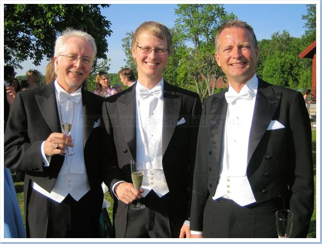 White tie trio