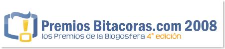 Premios Bitacoras.com Edicion 2008