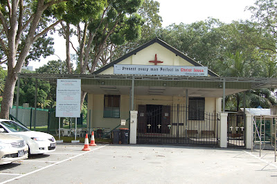 Former RAF Changi Anglican Church