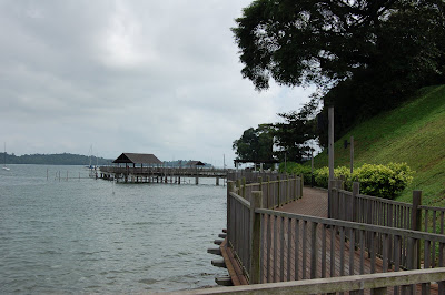 Changi boardwalk, replica Kelong