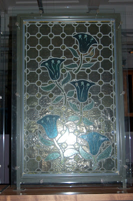 Blue Bell stained glass
