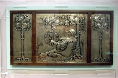 Pewter plaque