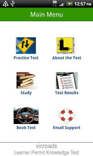 VicRoads Learner Permit Test
