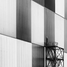 Hangar by Wim De Koster - Buildings & Architecture Other Exteriors ( hangar, antwerp )
