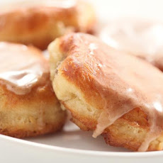 Banana Fritters with Spiced Glaze