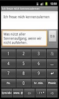 Screenshot of German-English Phonic Keyboard