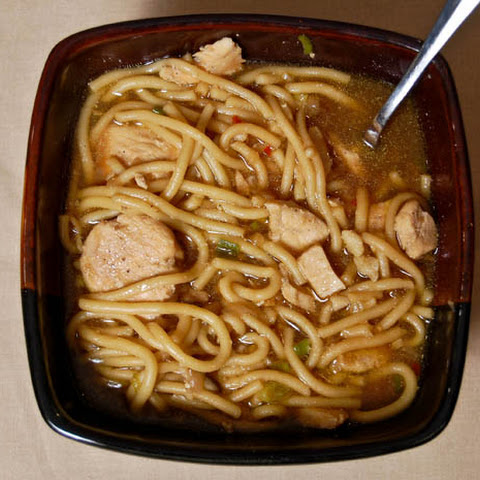 Ginger-Soy Chicken Noodle Soup Recipe | Yummly