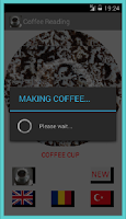 Screenshot of Coffee Reader