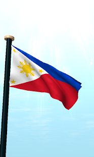 Philippines Flag 3D Free - screenshot