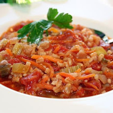 Tomato and Barley Soup