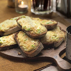 Rarebit Toasts