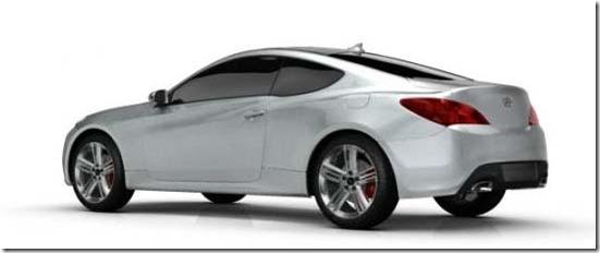 [Foto] Hyundai visão lateral e traseira