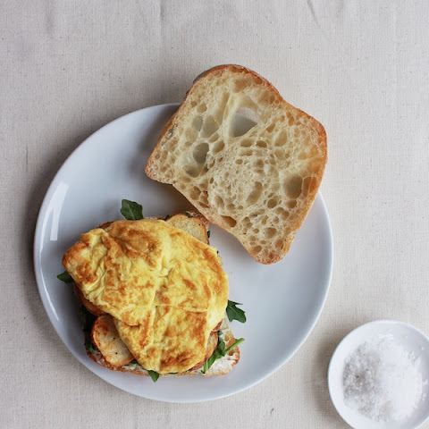 Five-Ingredient Pimenton Potato & Egg Sandwich