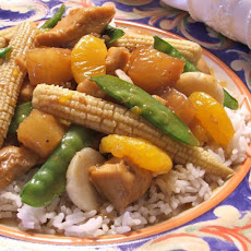 Sweet and Sour Chicken With Pineapple and Veggies