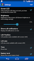 Screenshot of LED Blinker Notifications Lite