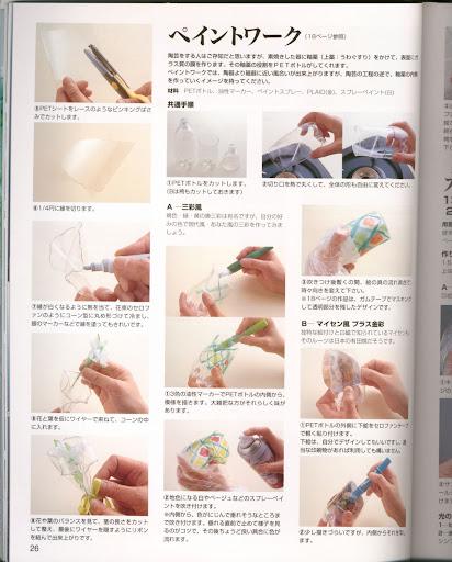 اعمال رائعة من الزجاجات البلاستيكية وادوات بسيطة