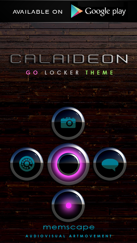 CALAIDEON Next Launcher Theme Screenshot 6
