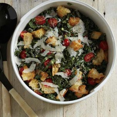 Kale Salad with Creamy Lemon Dressing