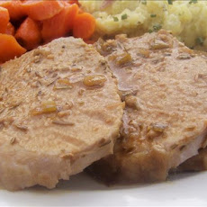 Pork Tenderloin in Bourbon-Dijon Glaze