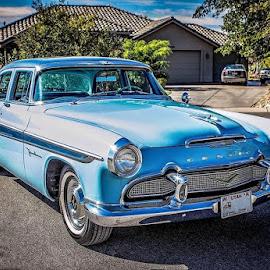 1956 Desoto Restoration by Debbie Heisler - Transportation Automobiles ( restoration, classic car, automobile, 1956, transportation, desoto )