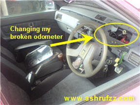 My dashboard being removed