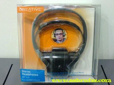 Creative Stereo Headphones HQ1400
