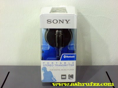 Sony Bluetooth Portable Stereo Transmitter
