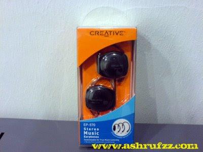 Creative EP-570 Stereo Music Earphones