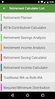 Screenshot of Financial Calculators