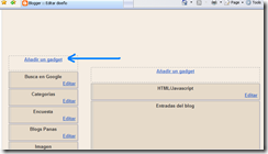 insertar codigo html en mi blog