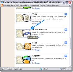 pegar codigo html en un blog blogger