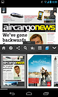 Screenshot of Air Cargo News