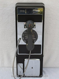 Single Slot Payphones - NOS 1970 1A NY Tel Co loc C-4 1