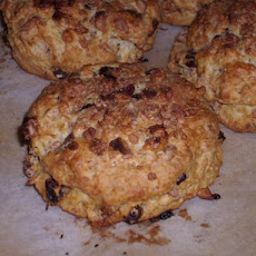 Walnut Raisin Scones