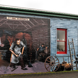 Mural by Vibeke Friis - Artistic Objects Other Objects ( tasmania, mural )