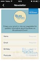 Screenshot of Blues On Broadbeach