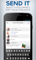 Screenshot of Tappit Instagram Messenger