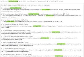 Screenshot of Gesetze Deutschland