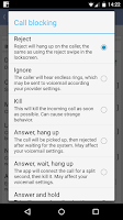 Screenshot of Root Call Blocker