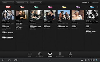 Screenshot of CANALTOUCH