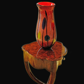 Art Nouveau arrangement by Victor Eliu - Artistic Objects Furniture ( vase, nouveau, art, furniture, objects )